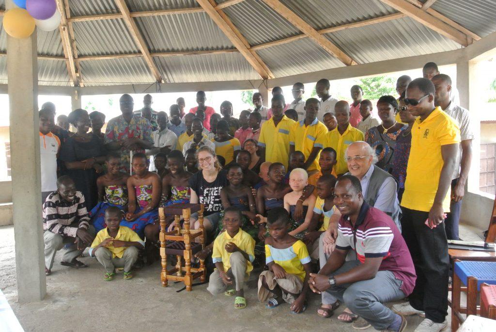 All'istituto dei ciechi IFRAM di Sokodé