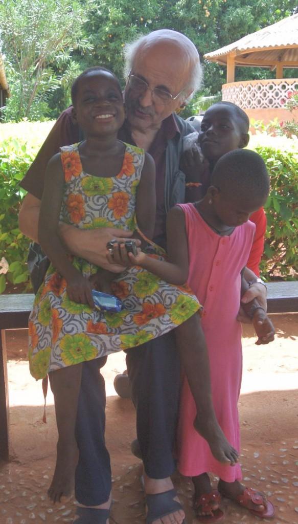 Con i bambini di Togoville 2016