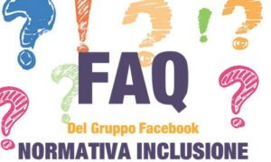 FAQ del gruppo Facebook Normativa Inclusione